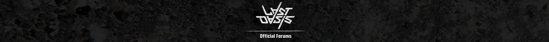 Last Oasis Official Forums